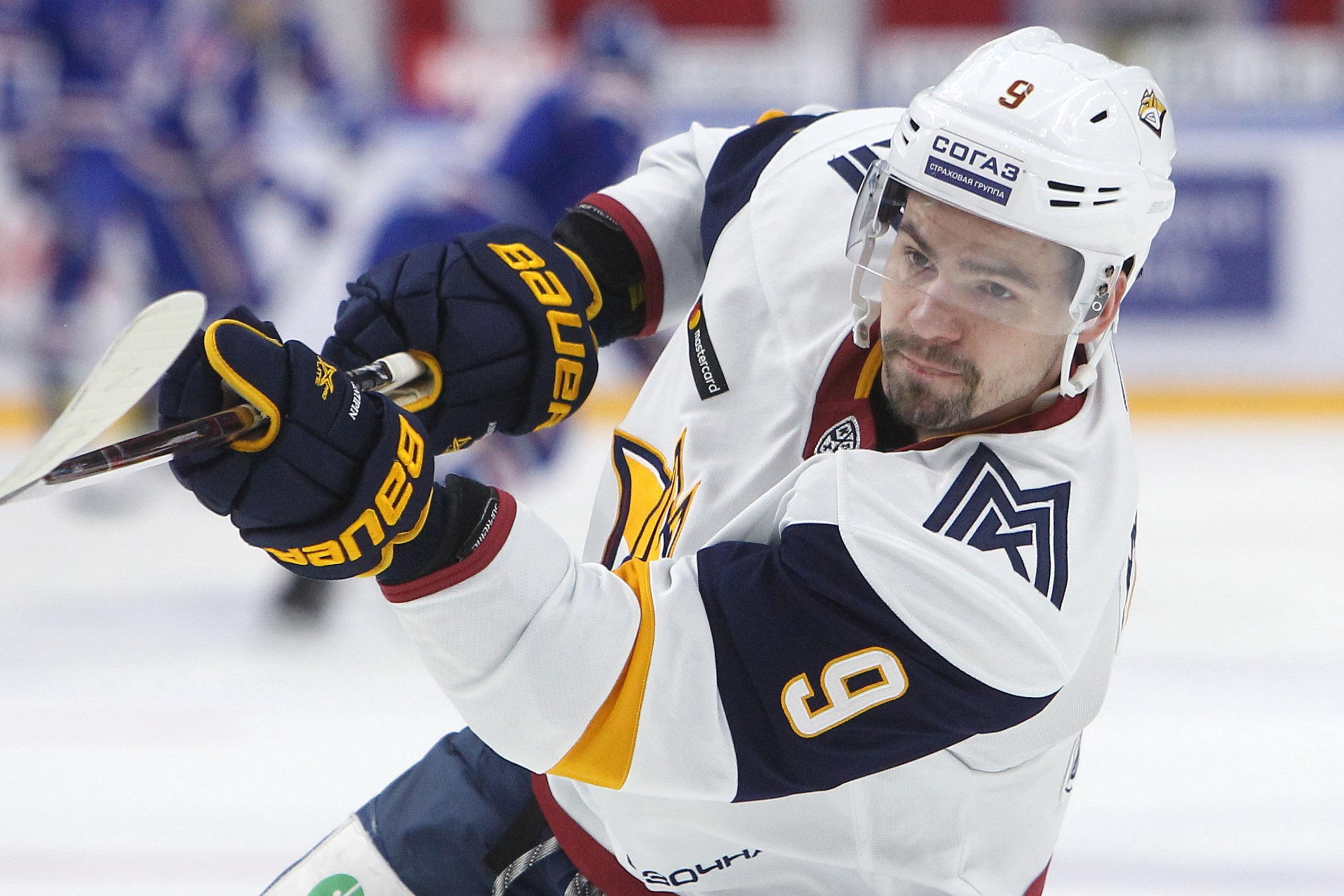 Виктор Антипин: «Решение вернуться из НХЛ в Магнитку было абсолютно верным»